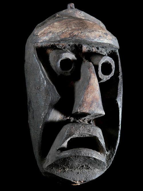 Masque de justice - Kran - Baoule - Côte d'Ivoire