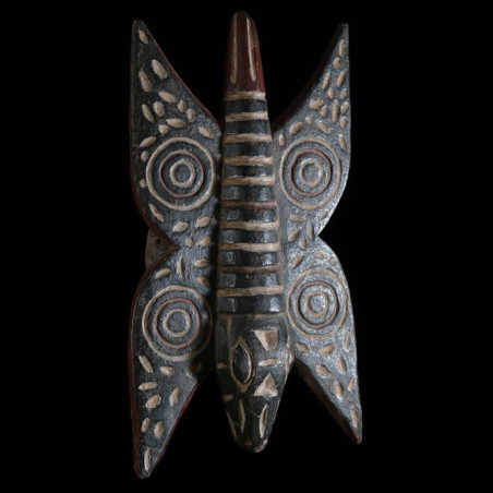 Masque papillon polychrome...