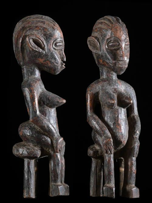 Statue Feminine Nakomse - Mossi - Burkina Faso