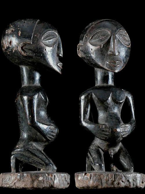 Statuette Mikisi - Luba - RDC Zaire