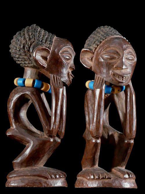 Statuette Rituelle - Luluwa ? Chokwe ? - RDC Zaire