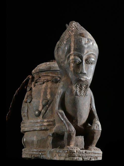 Boite oracle a souris - Baoule - Côte d'Ivoire - Oracles Africains