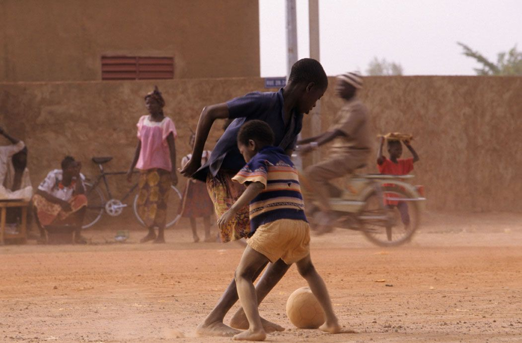 Jose Nicolas - Tirage photo numerote signe - Burkina