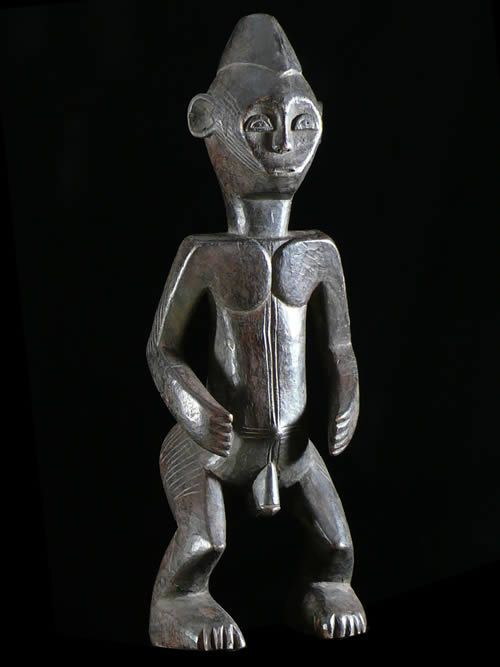Statuette anthropomorphe - Bassangue - Nigeria