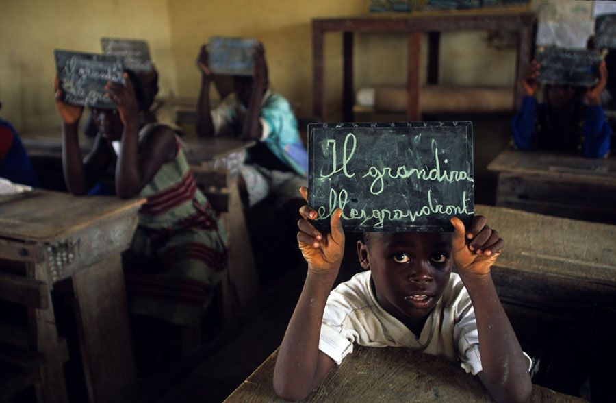 Jose Nicolas - Tirage photo numerote signe - Côte d'Ivoire