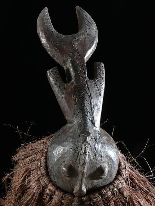 Statuette danseur de masque - Mossi - Burkina Faso