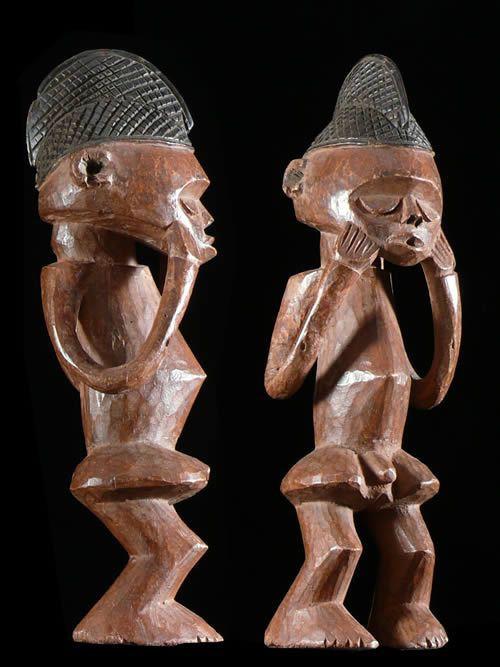 Statuette Rituelle - Hungana / Hungaan - RDC Zaire