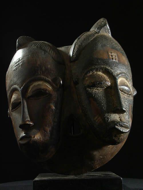 Masque de mariage - Baoule - Côte d'Ivoire - Masques - Art Africai