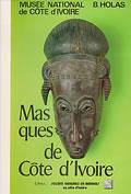 livre Masques de Côte d'Ivoire