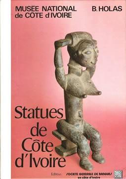 livre Statues de Côte d'Ivoire