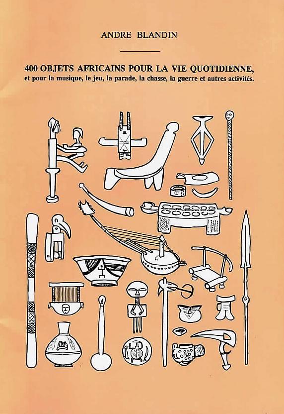 livre 400 objets Africains