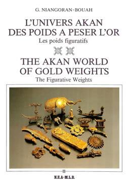 livre L'univers akan des poids à peser l'or