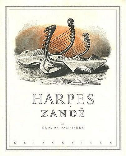 livre Harpes Zandé