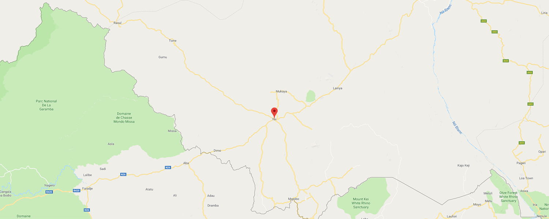 localisation de ethnie Toposa