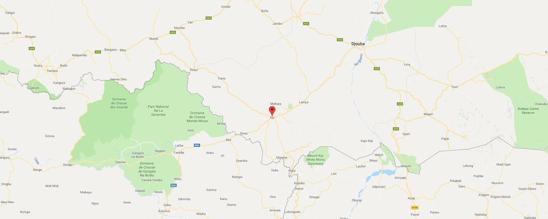 localisation de ethnie Kichepo