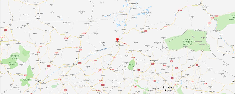 localisation de ethnie Fulani