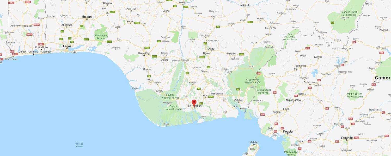 localisation de ethnie Ogoni / Ogboni