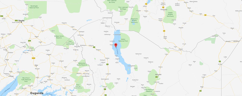 localisation de ethnie Turkana