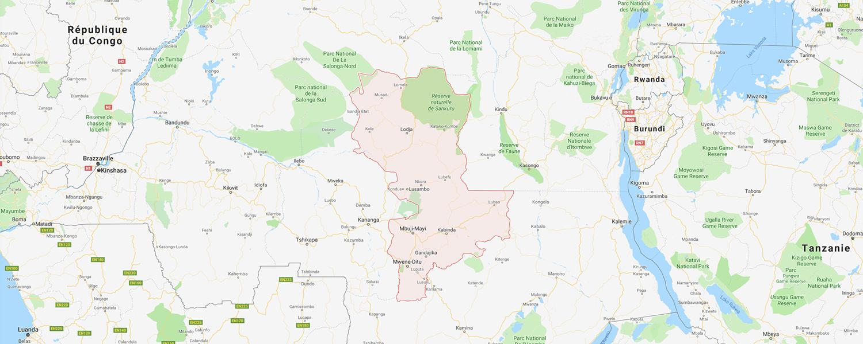 localisation de ethnie Nkutshu
