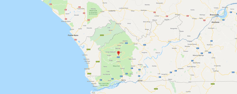 localisation de ethnie Yombe / Kongo
