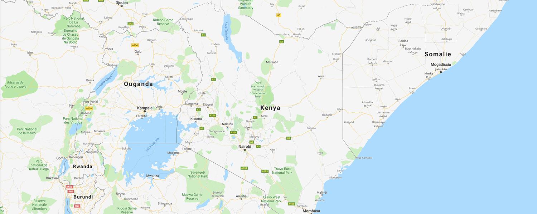 localisation de ethnie Massai