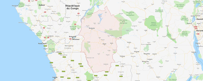 localisation de ethnie Pende / Bapende / Pande