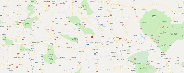 localisation de ethnie Gurunsi