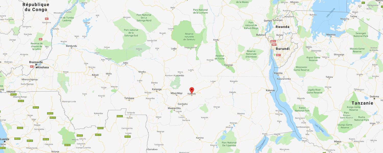localisation de ethnie Songye / Basongje