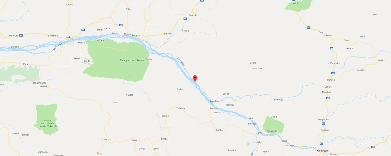 localisation de ethnie Lengola
