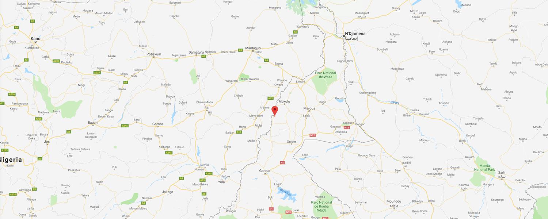 localisation de ethnie Kapsiki