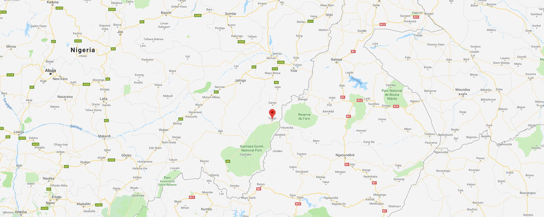 localisation de ethnie Potopos