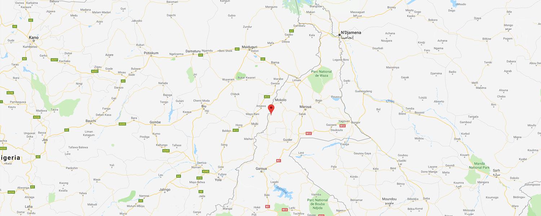 localisation de ethnie Mofu