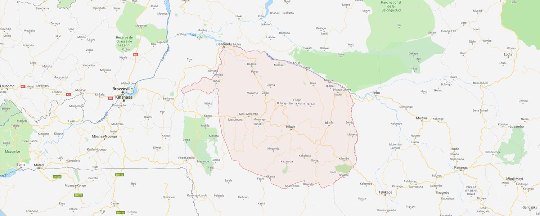 localisation de ethnie Kuba / Ngongo