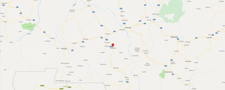 localisation de ethnie Binji / Mbagani