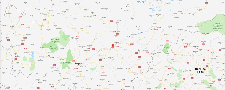 localisation de ethnie Bambara / Bamana