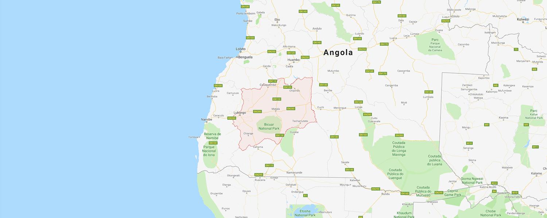 localisation de ethnie Mwila / Huila / Mumhuila