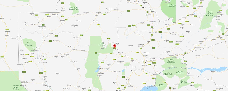localisation de ethnie Luvale