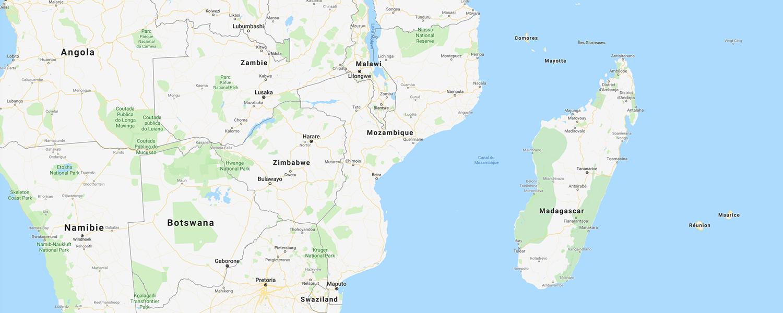 localisation de ethnie Makua