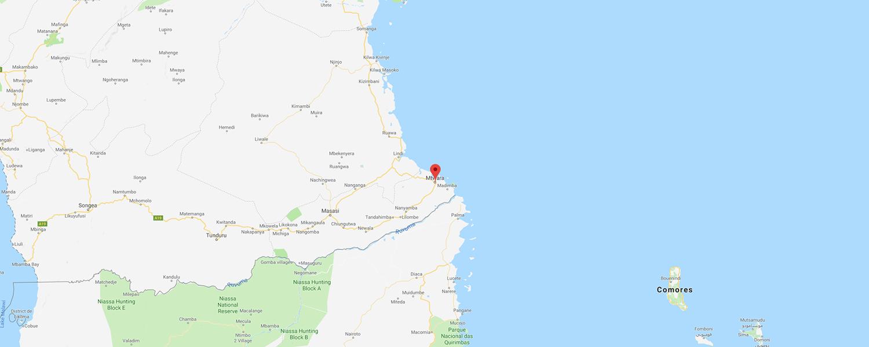 localisation de ethnie Mwera