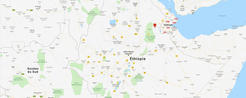localisation de ethnie Gamo Gofa / Gamu Gofa