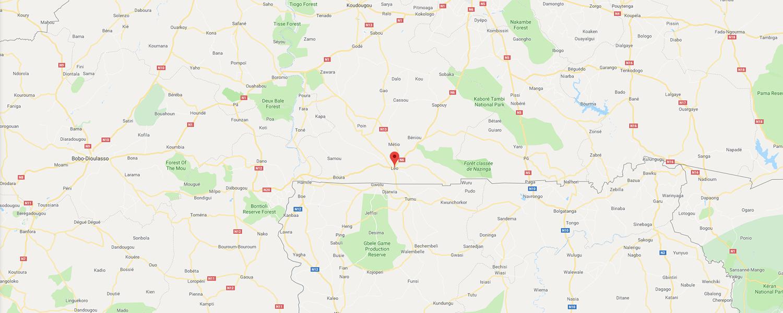 localisation de ethnie Sisala / Sissala