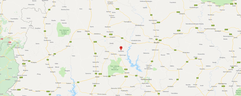 localisation de ethnie Gohitafla - Région de