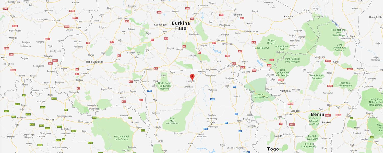 localisation de ethnie Koma Bulsa - Région de