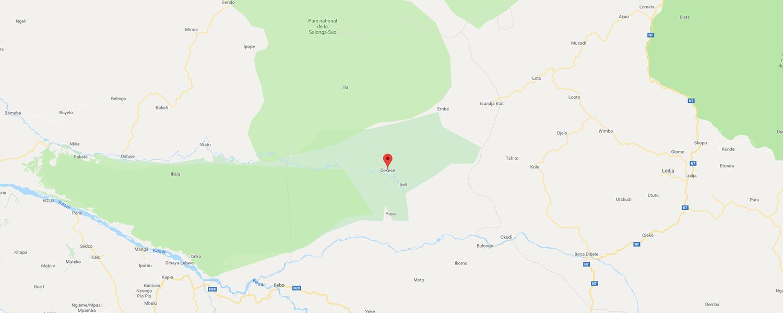 localisation de ethnie Kuba / Bushoong