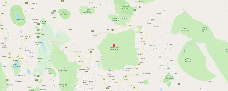 localisation de ethnie Kikuyu