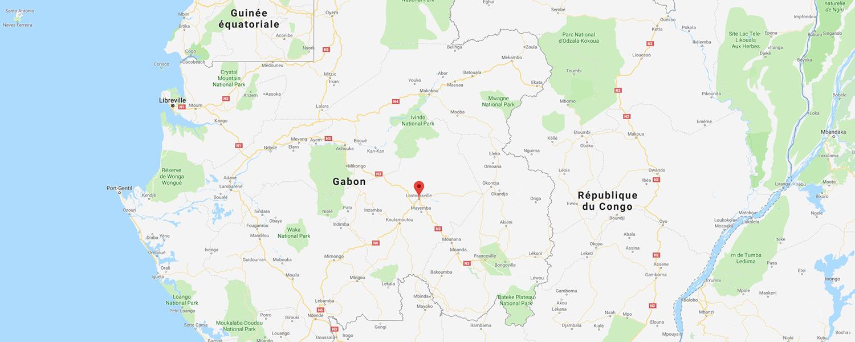 localisation de ethnie Aduma / Adouma