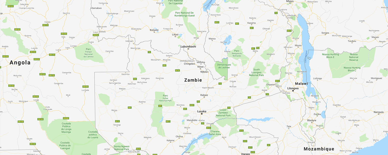 localisation de ethnie Lozi