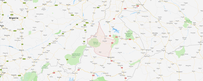 localisation de ethnie Doyayo - Dowayo - Namji