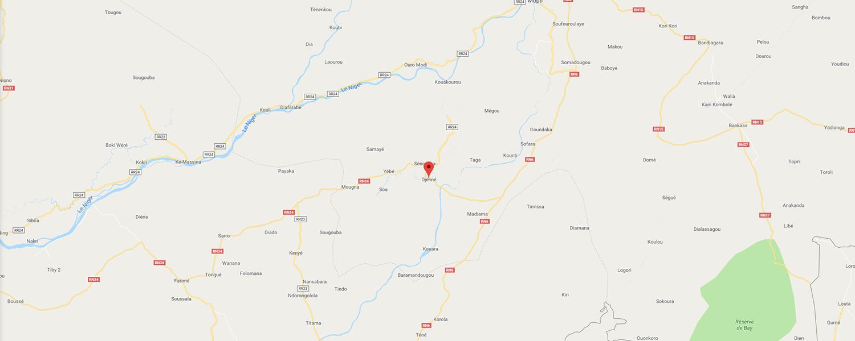 localisation de ethnie Djenne / Jeno - Région de