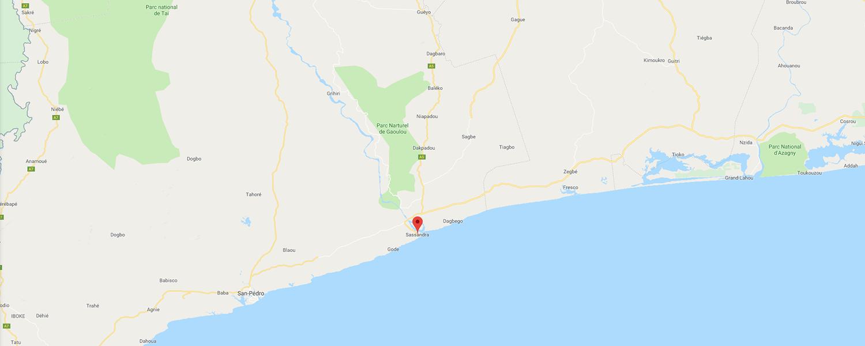 localisation de ethnie Dida